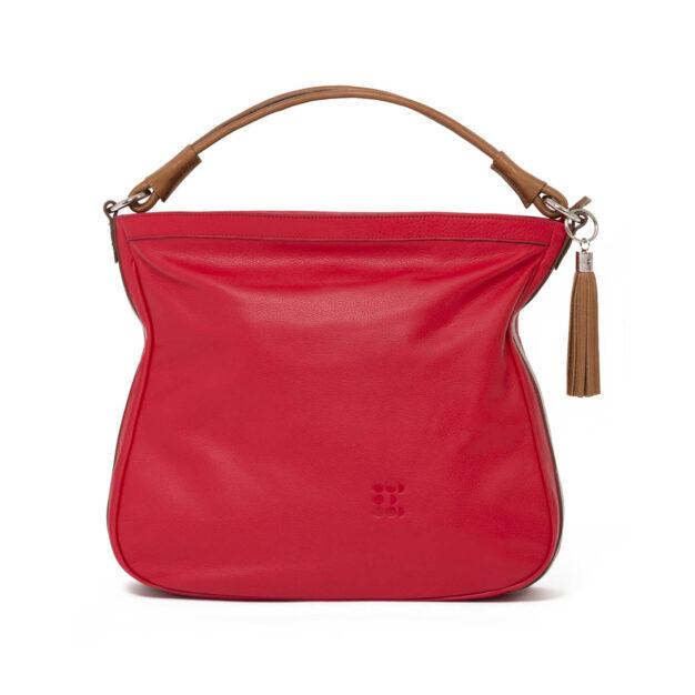 """Bags - """"Fancy Marisa"""" Hobo Bag - Red - 01"""