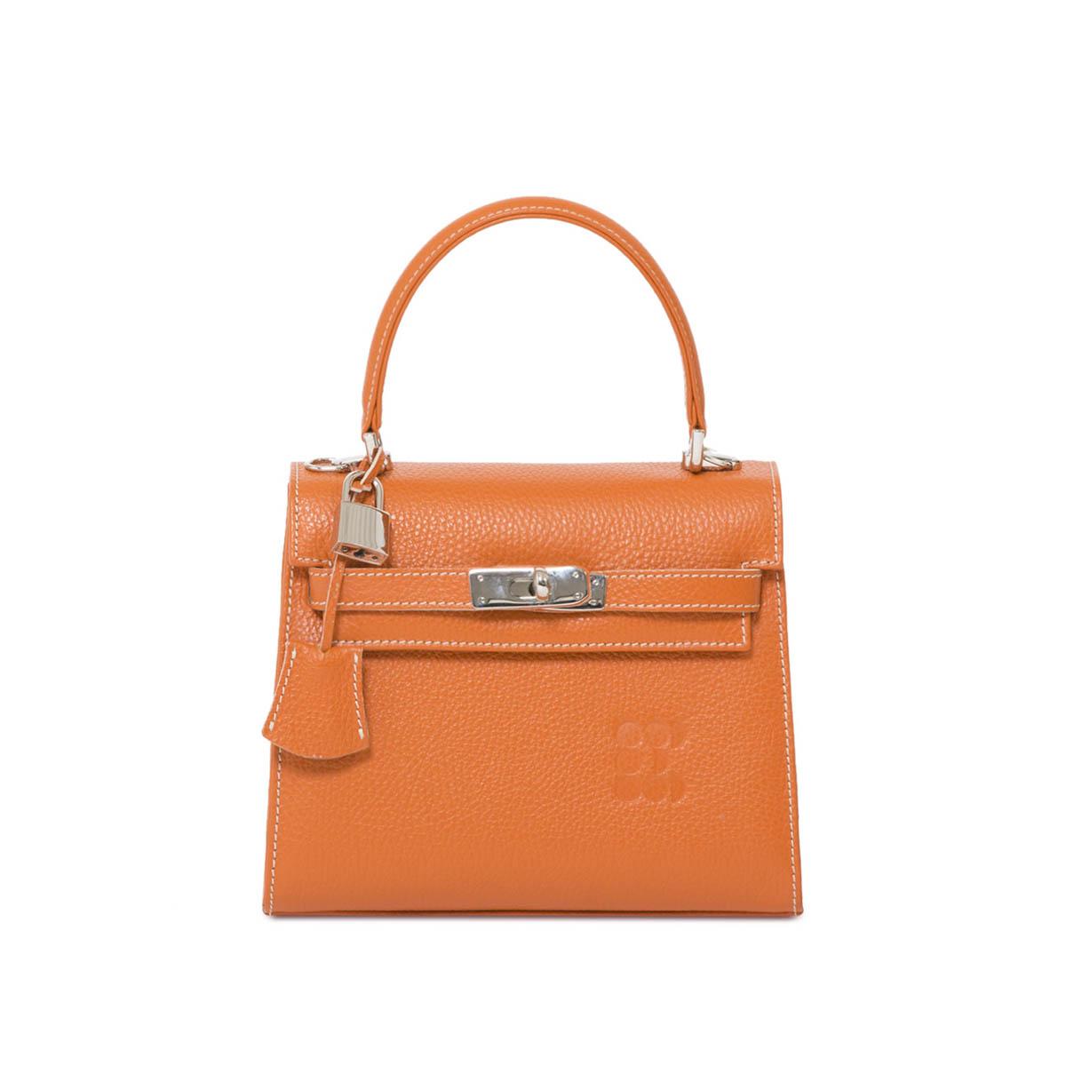 "Bags - ""Hermessina"" Mini Bag - Camel"