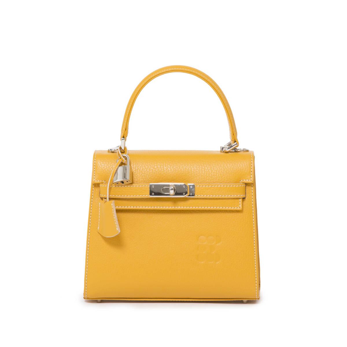 "Bags - ""Hermessina"" Mini Bag - Yellow"