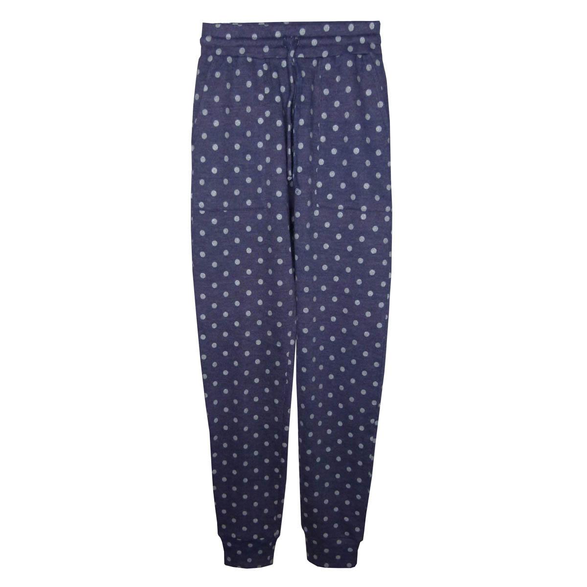 Clothing - Polka Dot Joggers - Blue - 01