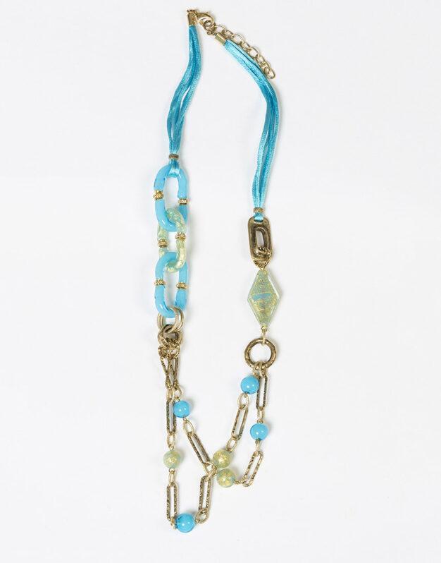 Short Necklace - Turquoise
