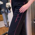 Heavyweight Knit Joggers In Black