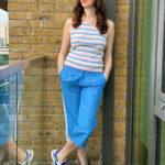 Capri Sports Luxe Pants In Blue