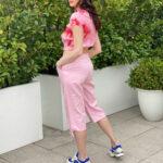 Capri Trousers In Pink