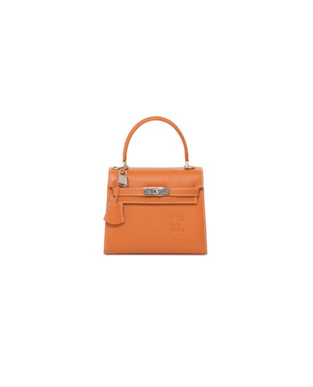 """Hermessina"" Mini Bag - Camel"