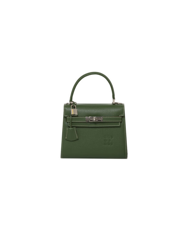 """Hermessina"" Mini Bag - Green Emerald"