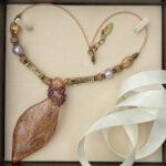 Pendant Necklace In Copper